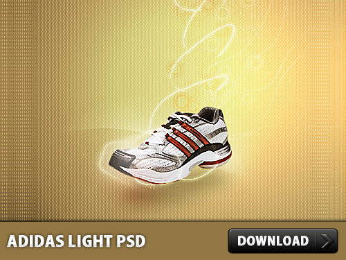 Adidas Light PSD File