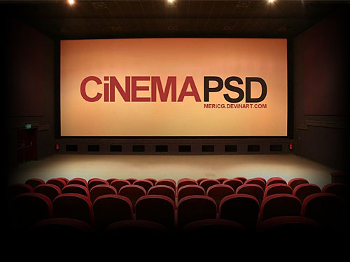 Cinema PSD