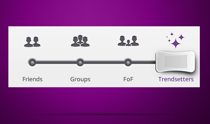 Cool Purple Slider UI Free PSD