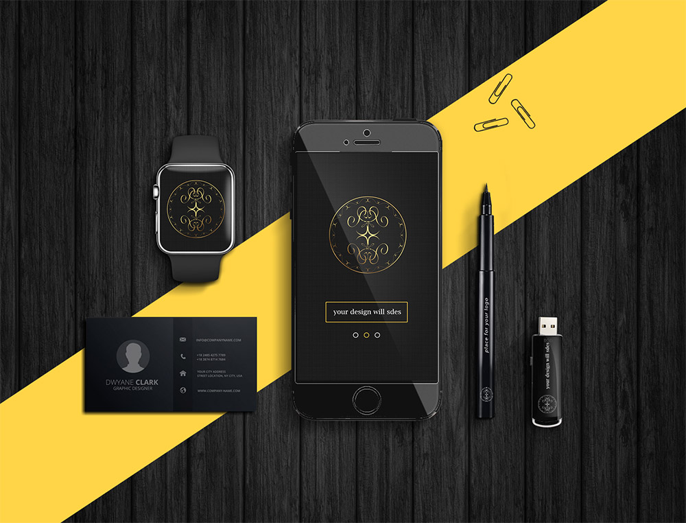 Dark Product Branding Mockups Free PSD Download Free PSD