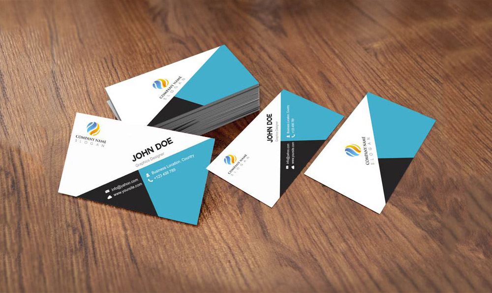 Flat style business card template design free psd at downloadfreepsd flat style business card template design free psd friedricerecipe