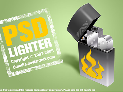 Free PSD Lighter