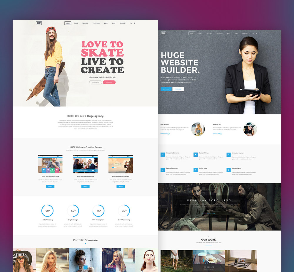 Multi purpose corporate and business website template free psd at multi purpose corporate and business website template free psd wajeb