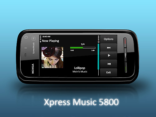 Nokia Xpress Music 5800 PSD L