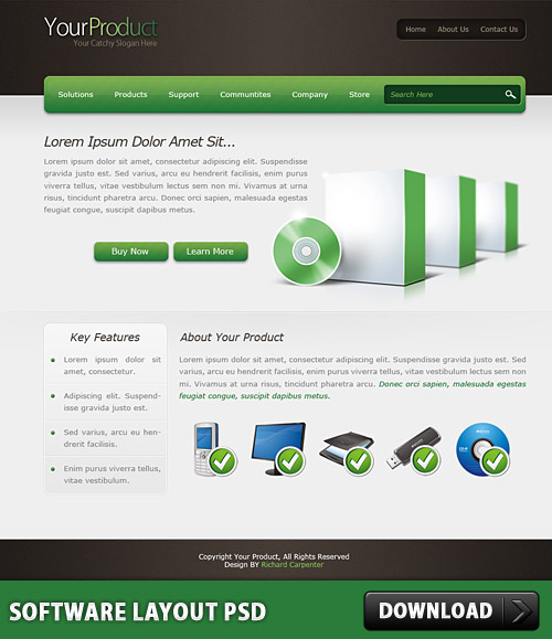 Software Layout PSD L