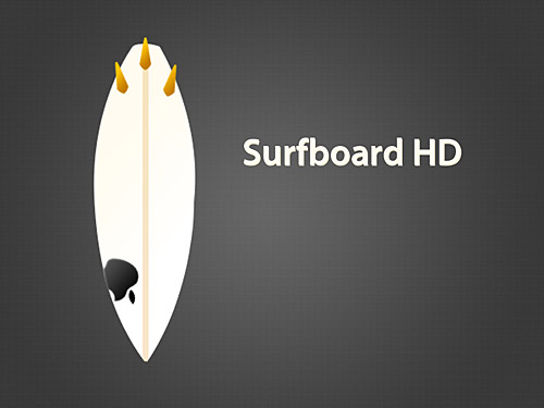 Surfboard HD PSD L