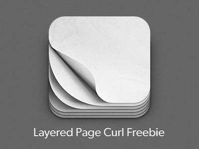Pagecurl Freebie Psd